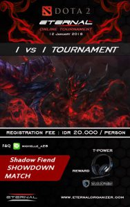 Eternal Dota2 Shadow Fiend 1V1 Online Tournament