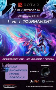 Eternal Dota2 Puck 1V1 Online Tournament